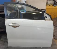 Дверь оригинальная передняя правая Kia Rio III [2011-2017] (белая)