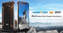 Homtom. Новый, 32 Гб, 3G, 4G LTE, Dual-SIM, Защищенный