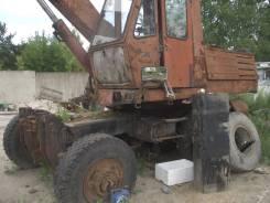 Твэкс ЭО-3323А. Экскаватор Калининец колесный, 0,65куб. м.