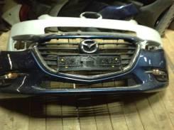 Бампер передний Mazda 3 BM 2013-2019