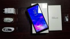 Samsung Galaxy A8+. Б/у, 32 Гб, Черный, 3G, 4G LTE, Dual-SIM, Защищенный, NFC