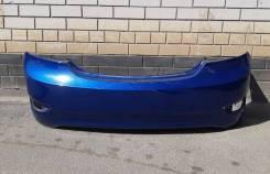 Бампер задний оригинальный Hyundai Solaris (2011-2014) [седан]