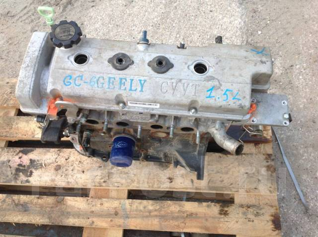 ДВС Geely GC6 MR479QN 1,5л.