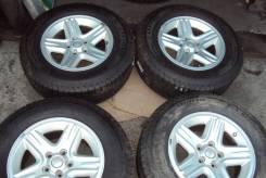 """Комплект 5х114.3 Jeep 225/70 R16 Michelin. 7.0x16"""" 5x114.30 ET38.5 ЦО 70,1мм."""