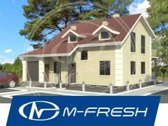 M-fresh Smart (Начнем с планировок и фундамента). 100-200 кв. м., 2 этажа, 5 комнат, каркас