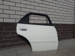 Дверь правая задняя Toyota Corolla AE110 белая 040 (есть дефект)