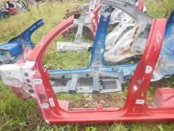 Стойка кузова центральная левая Citroen C3