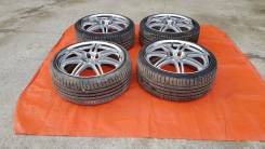 """Комплект японских колес WORK Varianza R19/8.5/+45 с жирной резиной. 8.5x19"""" 5x114.30 ET45"""