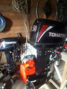 Tohatsu. 30,00л.с., 2-тактный, бензиновый, нога S (381 мм), 2017 год