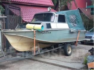 Казанка-2М. 2015 год, длина 5,00м., двигатель подвесной, 50,00л.с., бензин