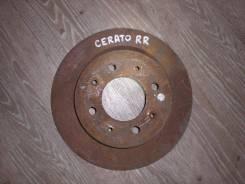 Диск тормозной Kia Cerato [584112K300], задний