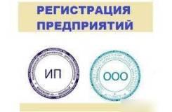 Помощь в государственной регистрации ООО и ИП
