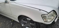 Крыло Toyota Crown Estate 2002 белый JZS171W Athlete V FAT 2500 cc в
