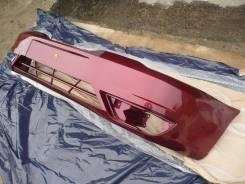Новый окрашенный бампер (вишневый) Daewoo Nexia N150 08-16г