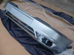 Новый окрашенный бампер (голубой мет. ) Daewoo Nexia N150 08-16г