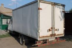 ГАЗ 33023. Фермер с фургоном 4.2м (промтоварный фургон). Общая длина машины 7.2, 2 400куб. см., 1 500кг., 4x2