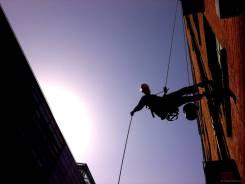 Промышленный альпинист. Хабаровск