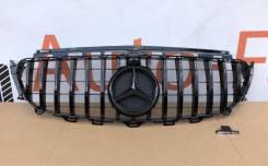 Решетка радиатора Mercedes-Benz E-class W213, C238 GT стиль черная