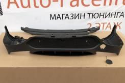 Диффузор на задний бампер для Mercedes-Benz GLC Coupe C253 AMG 6.3