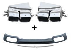 Диффузор + насадки BMW F01 760