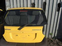 Дверь багажника Chevrolet Spark 2005-2010 (Дверь багажника со стеклом)