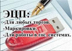 Выпуск ЭЦП для любых торгов, маркировки, для работы в гос. системах.