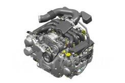 Двигатель Субару Форестер 2011 2.5 FB25 в разборе