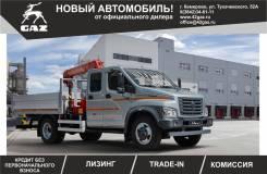 ГАЗ ГАЗон Next C42R33. ГАЗ-С42R33(Бортовой автомобиль с Краном-Манипулятором) в Кемерово!, 4 400куб. см., 4 000кг., 4x2