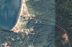 Земельный участок в с. Рисовая Падь (Андреевка). 2 500кв.м., собственность. План (чертёж, схема) участка