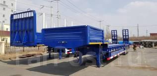 Cimc. Полуприцеп трал 60 тонн три оси CIMC, 60 000кг.