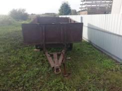 Самодельная модель. Телега на трактор маленькая, 1 500кг.