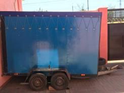 Niewiadow. Продаётся Полуприцеп-фургон, 850кг.