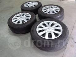 "Комплект колес 225/65R17 Nissan X-Trail и др. 7.0x17"" 5x114.30 ET45 ЦО 66,1мм."