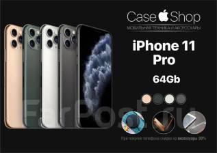 Apple iPhone 11 Pro. Новый, 64 Гб, Белый, Зеленый, Золотой, Серебристый, Серый, Черный, 3G, 4G LTE, Dual-SIM, Защищенный, NFC