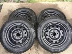 Новый комплект колёс на Ваз