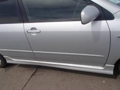 Дверь передняя правая Toyota corolla fielder nze 121 серебро 2005 год