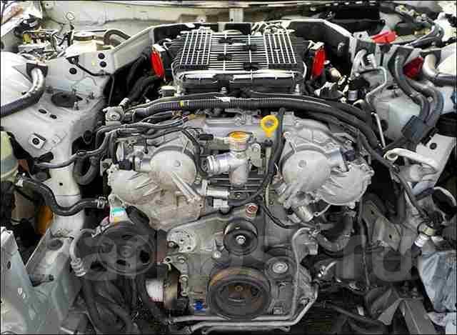 Двигатель Infiniti FX37 3.7L VQ37VHR