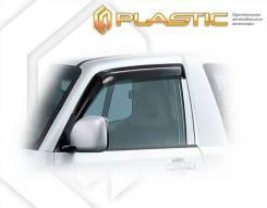 Mitsubishi Pajero 1999-2006 3d. Дефлекторы окон Ветровики дверей 791