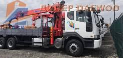 Daewoo Novus. 15,5 тонн c КМУ Kanglim 2056 (7100кг)/ 2019г, 10 964куб. см., 15 500кг., 6x4. Под заказ