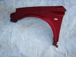 Крыло переднее Nissan Primera P12, левое, красное