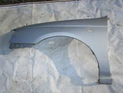 Крыло переднее Nissan Bluebird U14, левое, серебристое