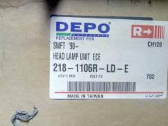 ФАРА Правая (DEPO) Suzuki Swift (1989-1996) 218-1106R-LD-E