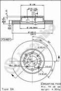 Диск тормозной Standard | перед | Brembo 09528510