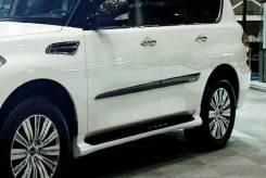 Накладка на боковую дверь. Infiniti QX56 Nissan Patrol, Y62