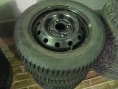 Шипованные колеса Amtel 185/65 R14 + диски 4х114 Honda