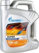 Газпромнефть Супер. 5W-40, полусинтетическое, 4,00л.