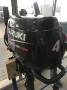 Suzuki. 4,00л.с., 4-тактный, бензиновый, нога S (381 мм), 2015 год