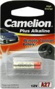 Батарейка Алкалиновая Для Сигнализации Тип A27 Camelion Plus Alkaline Lr27a-Bp1 Camelion арт. LR27ABP1