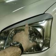 Накладка на фару. Dongfeng S30 Chery: indiS, Tiggo, Bonus, M11, Tiggo 5, Arrizo 7 Mercedes-Benz: GLA-Class, E-Class, C-Class, B-Class, S-Class Chevrol...