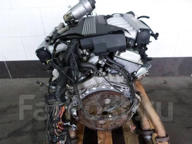 Двигатель 5.4 M73B54 BMW E38 с навесным
